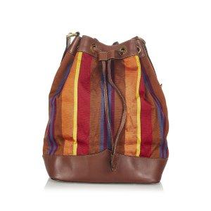 Celine Nylon Bucket Bag