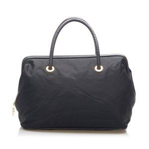Celine Handbag black nylon