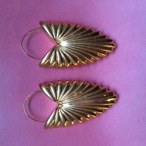 Celine Dangle gold-colored metal