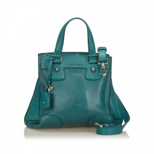 Celine Orlov Leather Satchel