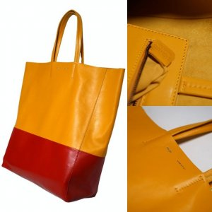 Celine Paris Cabas Leder Shopper
