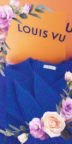 Celine Maglione oversize blu