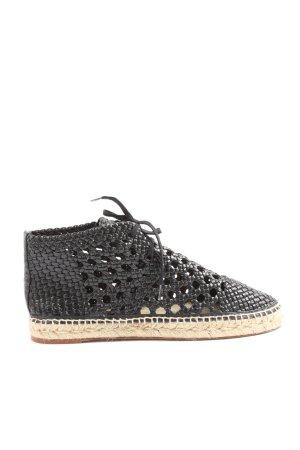 Celine Paris Lace Shoes black casual look