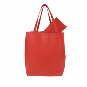 Celine Phantom Cabas Leather Tote Bag