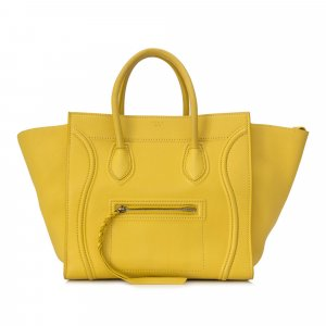 Celine Tote yellow leather