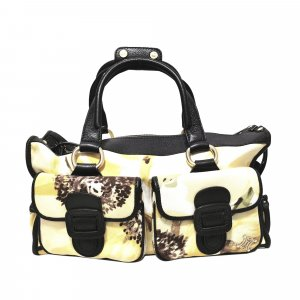 Celine Printed Canvas Handbag