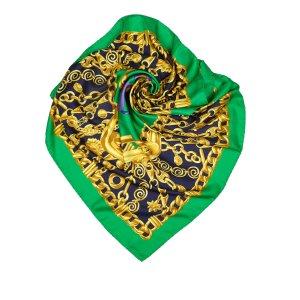 Celine Sciarpa verde Seta
