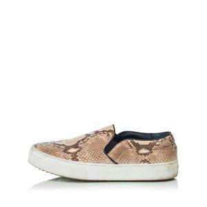 Celine Python Slip-on Sneaker