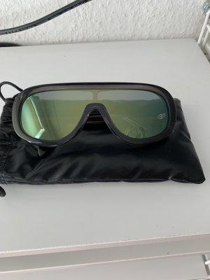 Celine Aviator Glasses anthracite-taupe acetate