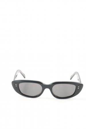 Celine Okulary retro czarny W stylu casual