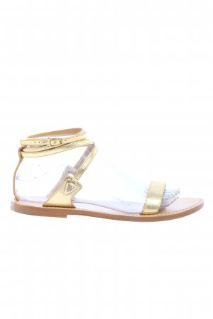 """Celine Riemchen-Sandalen """"Basso Sandals"""" goldfarben"""