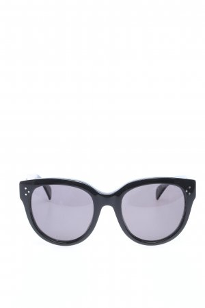 Celine Round Sunglasses black-light grey casual look