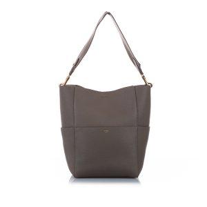 Celine Sangle Seau Leather Shoulder Bag