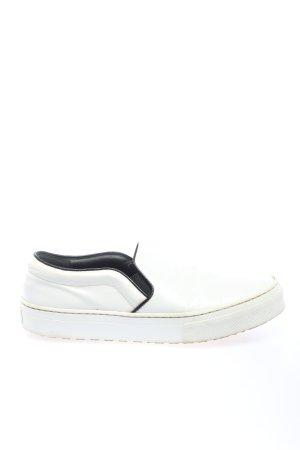 Celine Schlüpfsneaker weiß Casual-Look