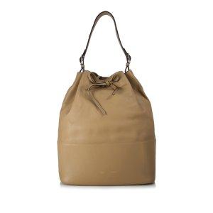 Celine Shoulder Bag light brown leather