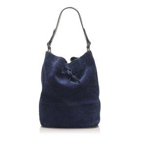 Celine Seau Drawstring Bucket Bag