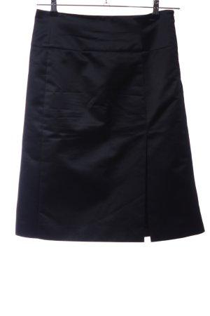 Celine Seidenrock schwarz Elegant