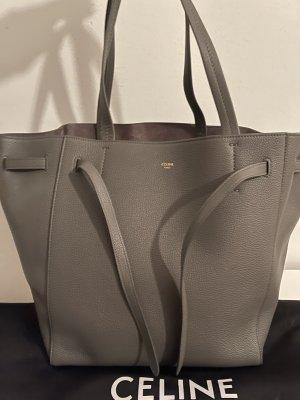 Celine Borsa shopper grigio Pelle