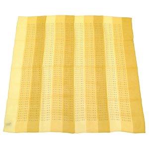 Celine Écharpe en tricot beige soie