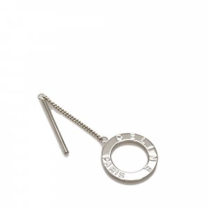 Celine Sciarpa argento Metallo