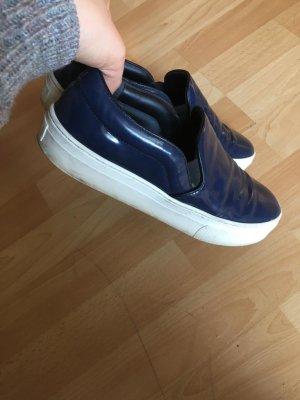 Celine Zapatos de marinero negro