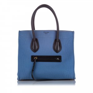 Celine Small Phantom Canvas Tote Bag