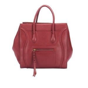 Celine Small Phantom Luggage Leather Tote Bag