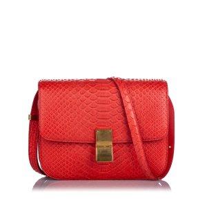Celine Small Python Classic Box Bag