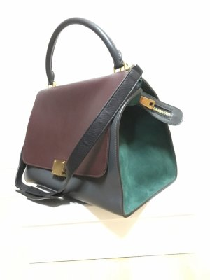 Celine Small Trapeze Bag, Original, Tricolor, Small, Leder