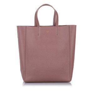 Celine Small Vertical Cabas Leather Satchel