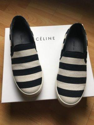 Celine Sneaker slip-on nero-bianco
