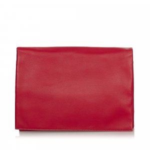 Celine Solo Leather Clutch Bag