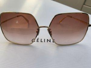 Celine Hoekige zonnebril goud-roségoud