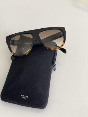 Celine Ovale zonnebril zwart-brons