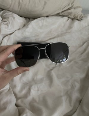 Celine Pilotenbril zwart-zilver