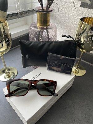 Celine Paris Angular Shaped Sunglasses dark brown