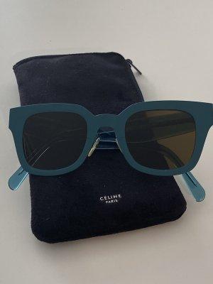 Celine Gafas de sol cuadradas azul acero
