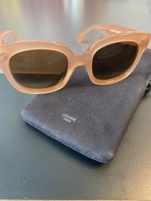 Celine Hoekige zonnebril veelkleurig