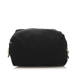 Celine Suede Clutch Bag
