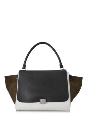Celine Suede Trapeze Handbag