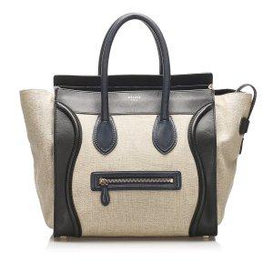 Celine The Luggage Tote Hemp Tote Bag