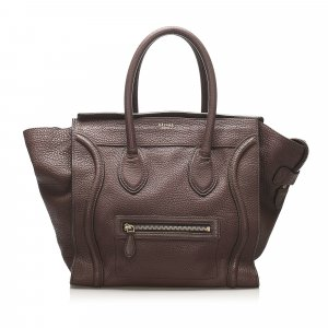 Celine The Luggage Tote Leather Tote Bag