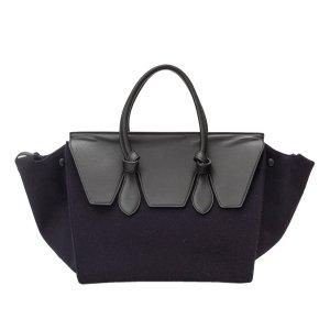 Celine Tie Wool Tote Bag