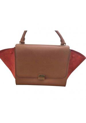 Celine Handbag cognac-coloured-brick red