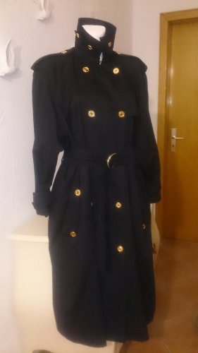Celine Trench Coat black-gold-colored