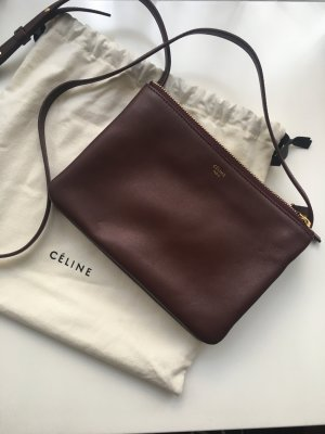 Céline Trio Bag Bordeaux