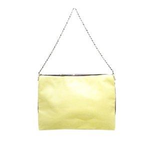 Celine Shoulder Bag beige leather