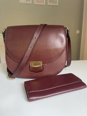 Celine Trotteur Tasche mit passendem Portemonnaie