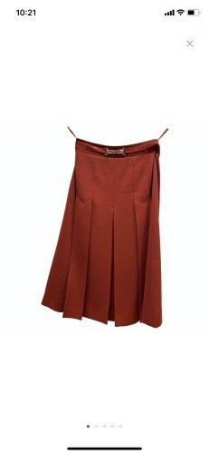 Celine A Line Dress russet