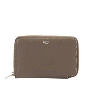 Celine Zip Around Leather Small Wallet